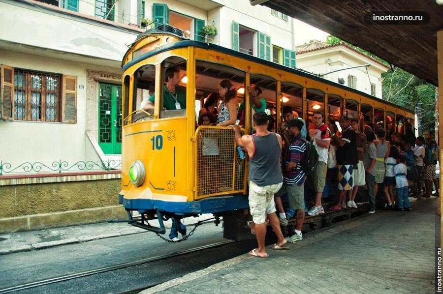 трамвай санта-тереза