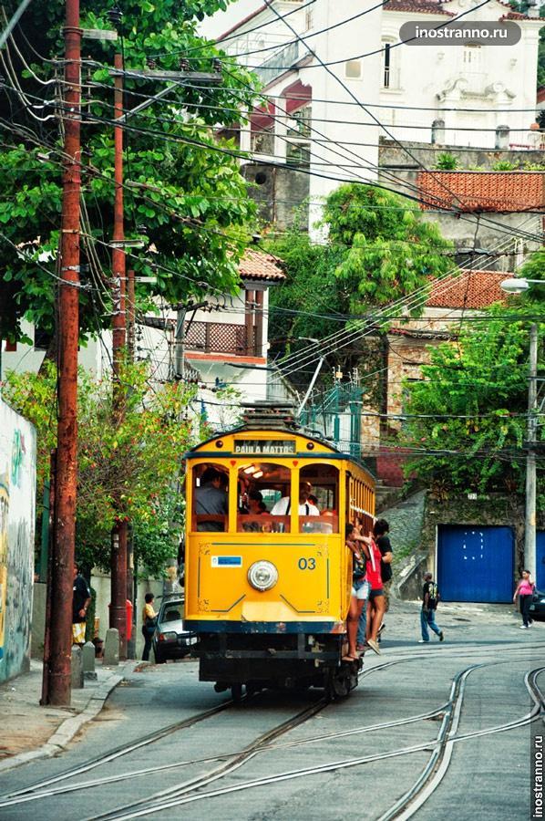 трамвай бондиньо рио
