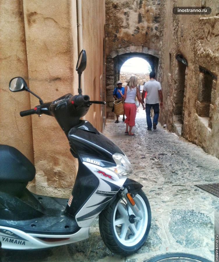 Ибица старые улочки Dalt Vila