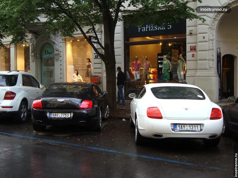 Bentley Continental GT из Чехии