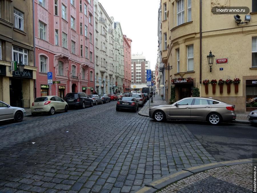 Машины в Праге