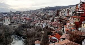 Древняя столица Болгарии Велико-Тырново