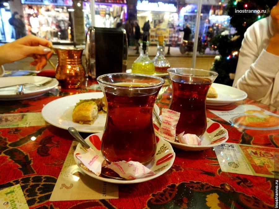 турецкий чай