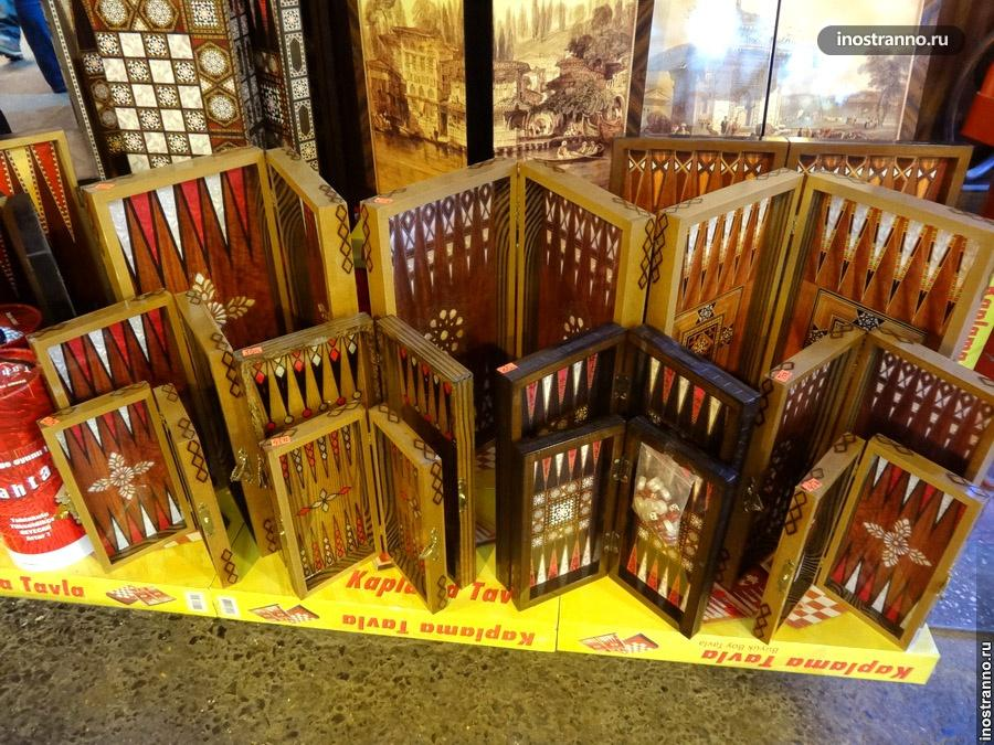 нарды на турецком рынке