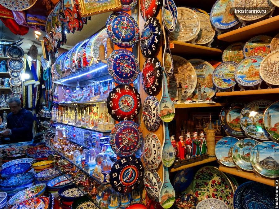 сувениры на базаре измира