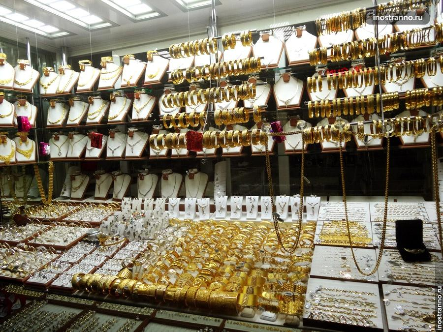 золотые украшения в стамбуле