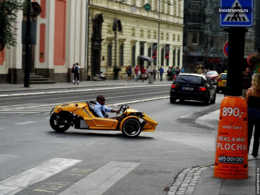 Необычное авто в Праге