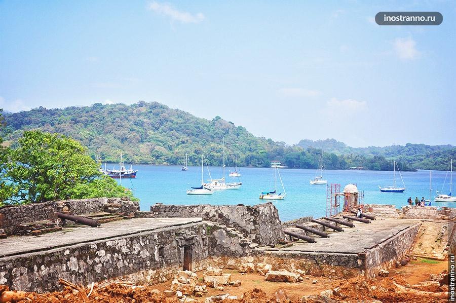 руины крепости портобело панама