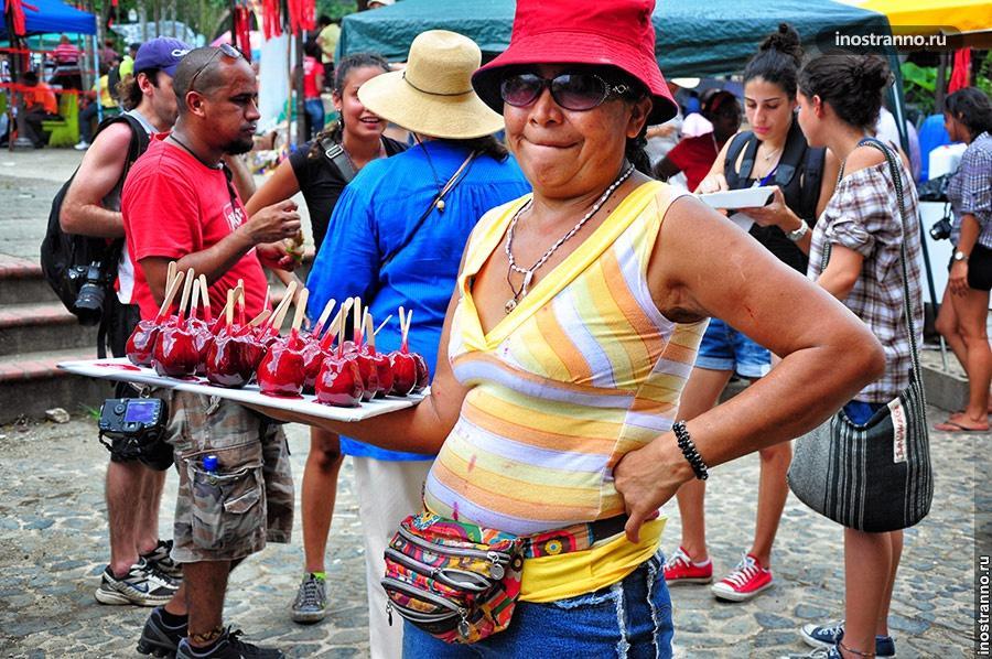 панамская еда портобело