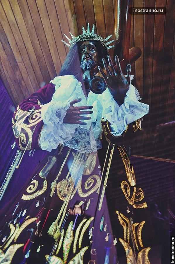 черный христос портобело панама