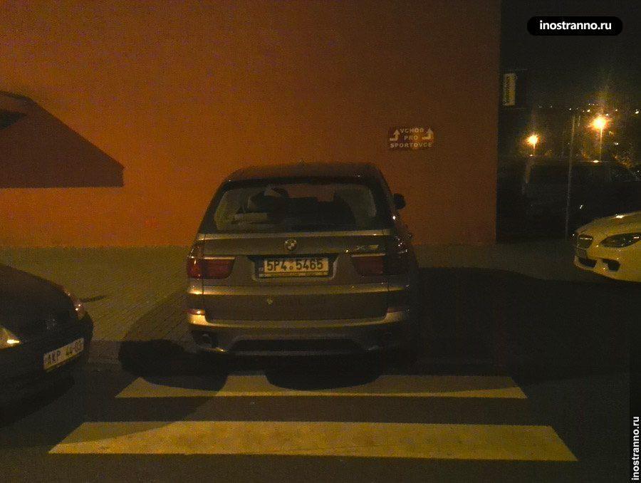 BMW X5 в Чехии