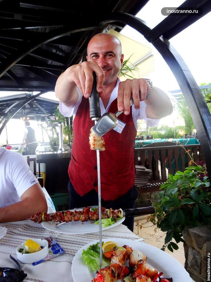 болгарский шашлык