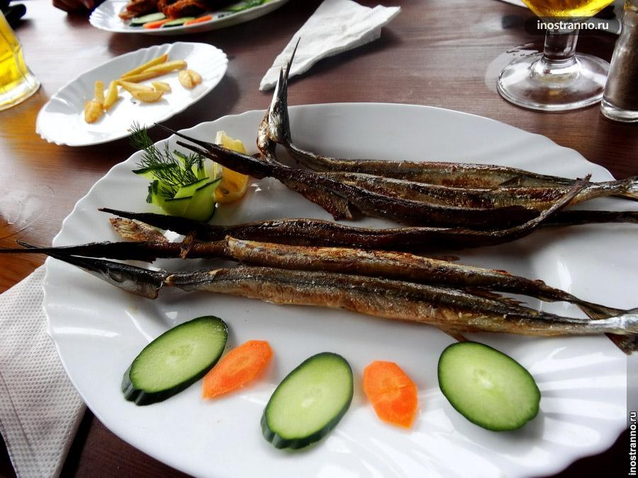 болгарское рыбное блюдо