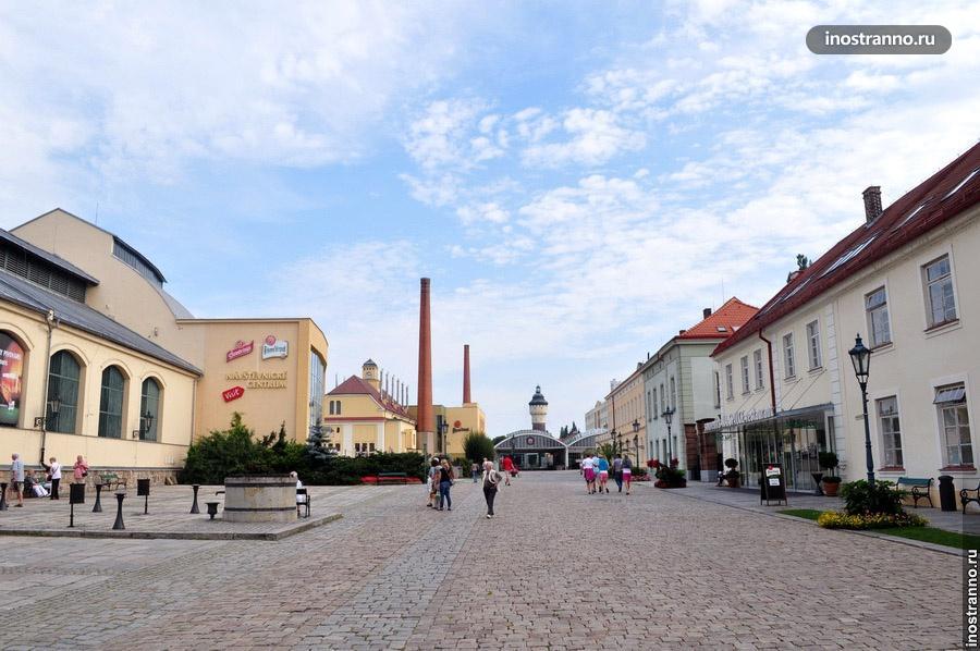 пивоварня Пилзнер Урквел - Пльзень