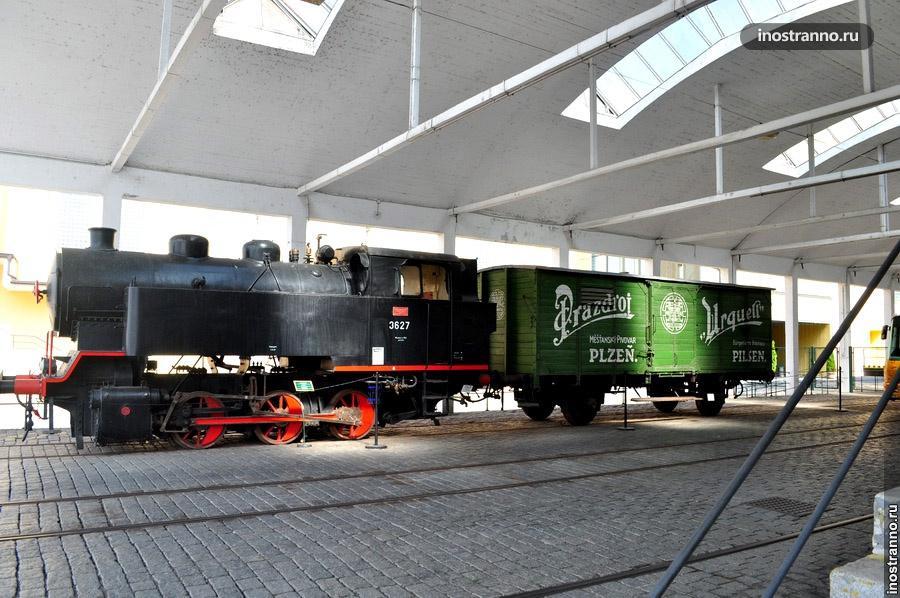 Ретро поезд - Пльзень