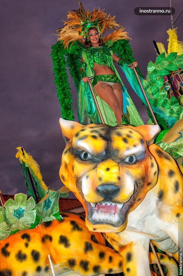 королева карнавала панама