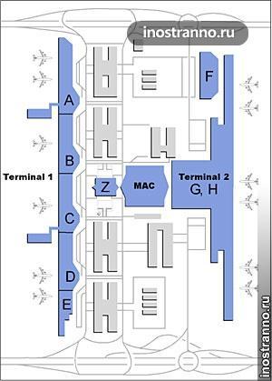 где купить билет в аэропорту Мюнхена