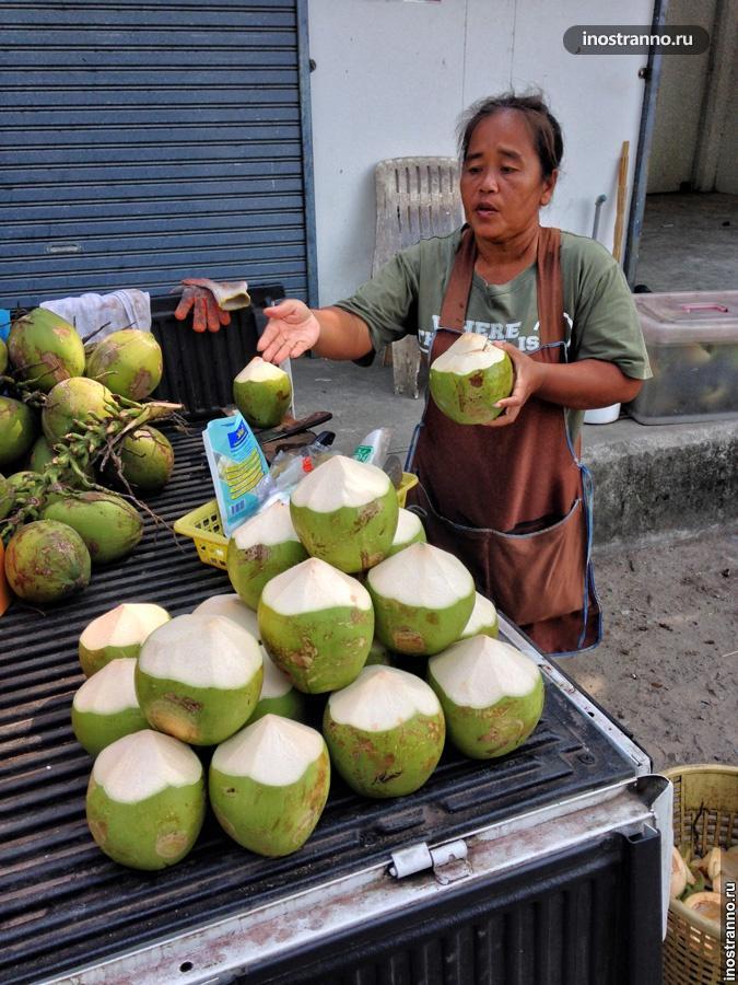 кокосовая вода тайланд