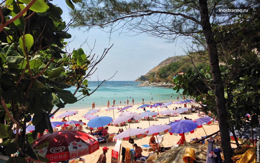 юг пхукета пляж най харн