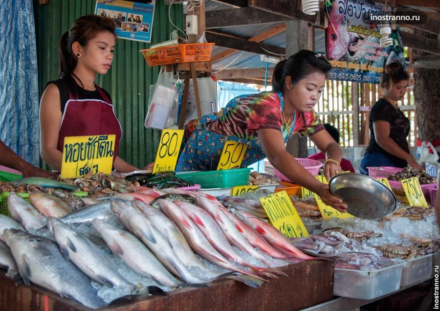 рыбный рынок раваи пхукет