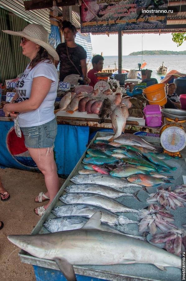 рыбный рынок пхукета