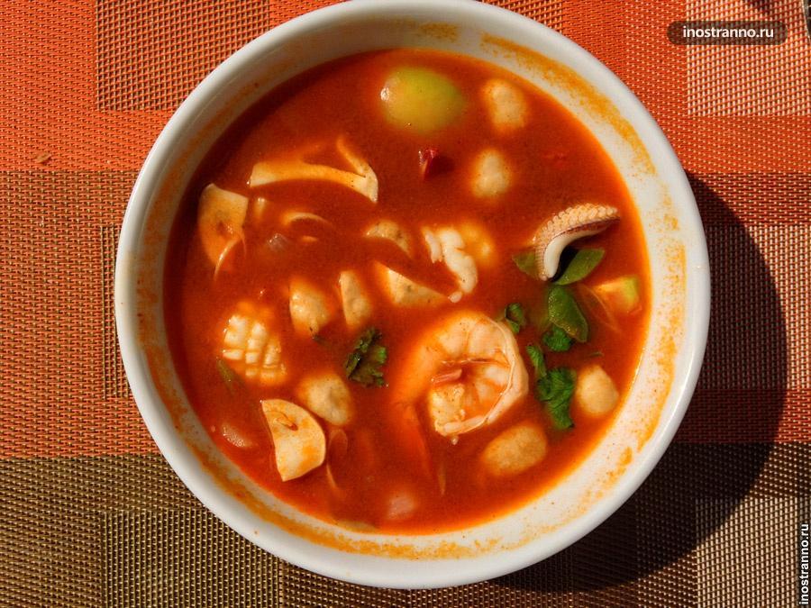 тайский суп том ям