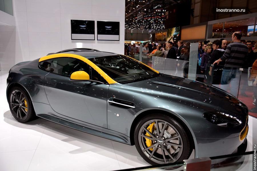 Aston Martin Vantage в Женеве