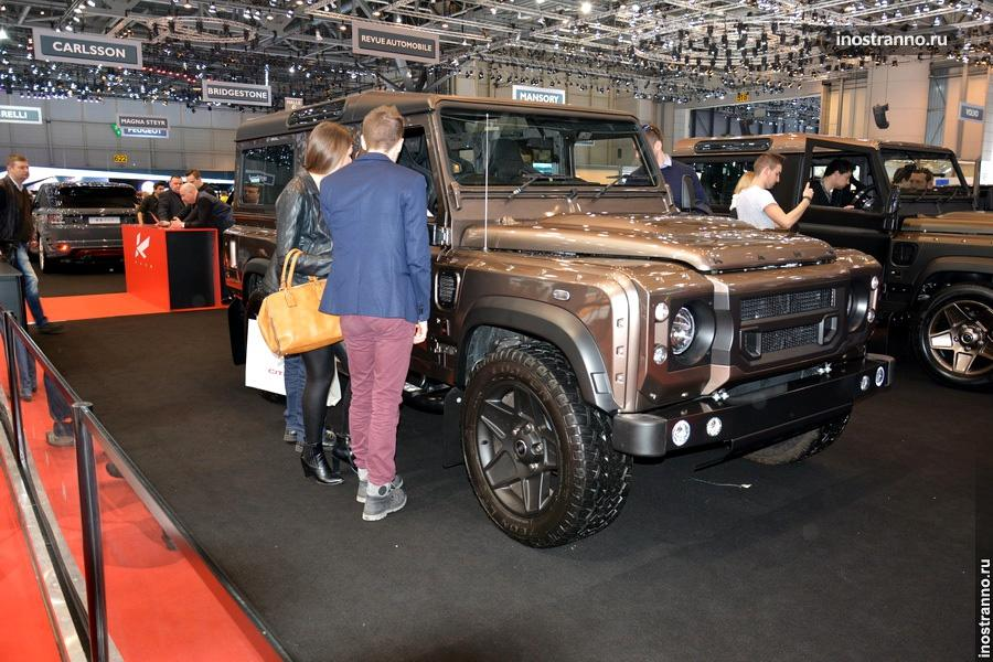Тюнинг Land Rover от Kahn