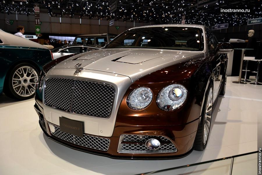 Тюнинг Bentley Continental Flying Spur от Mansory