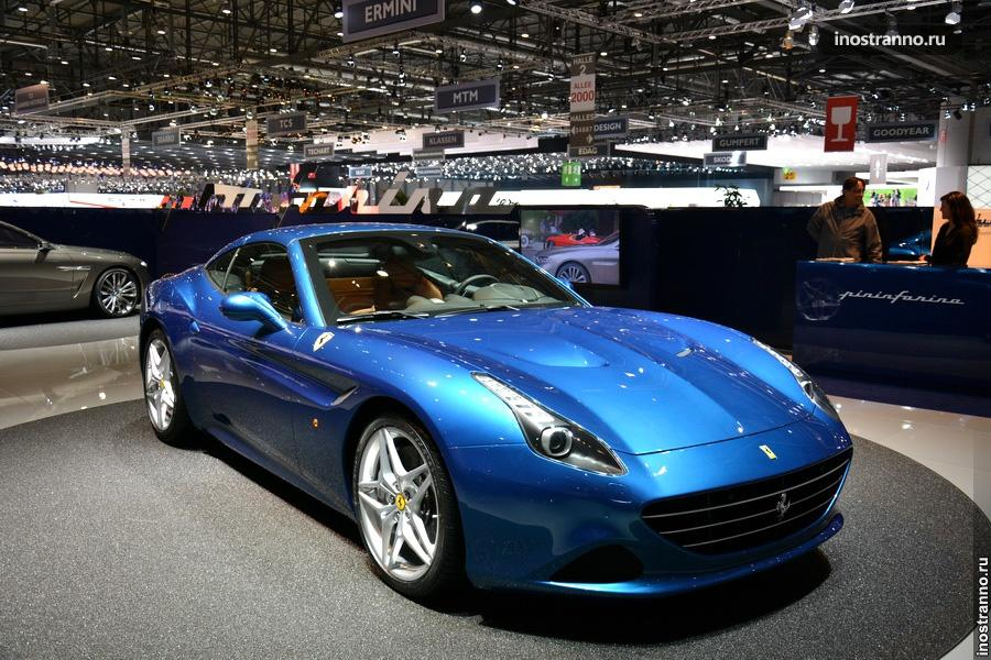 Ferrari California T на Женевском автосалоне