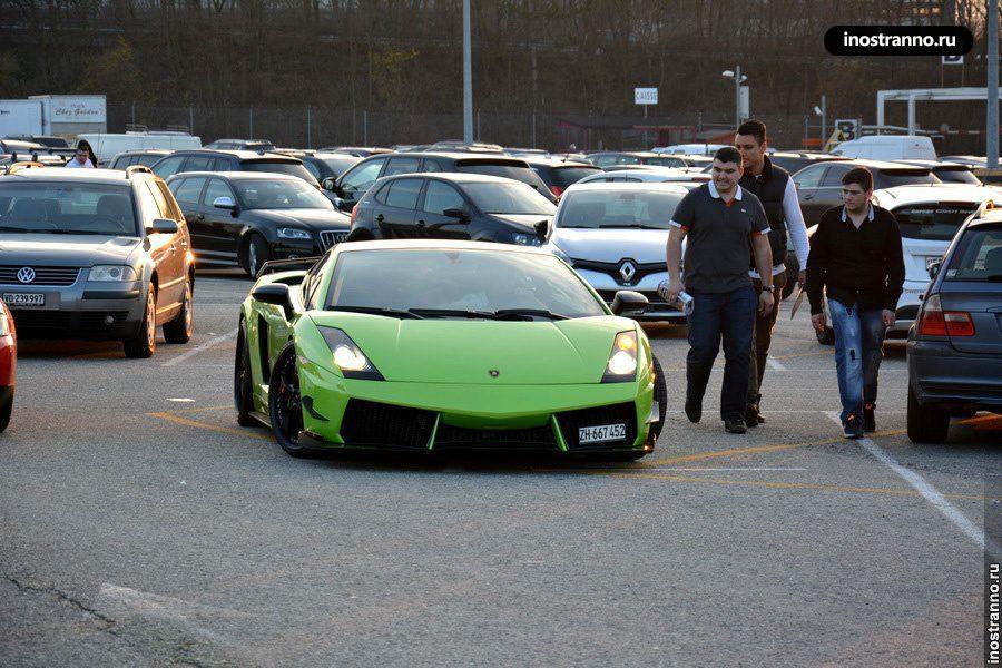 Как добраться до автосалона в Женеве