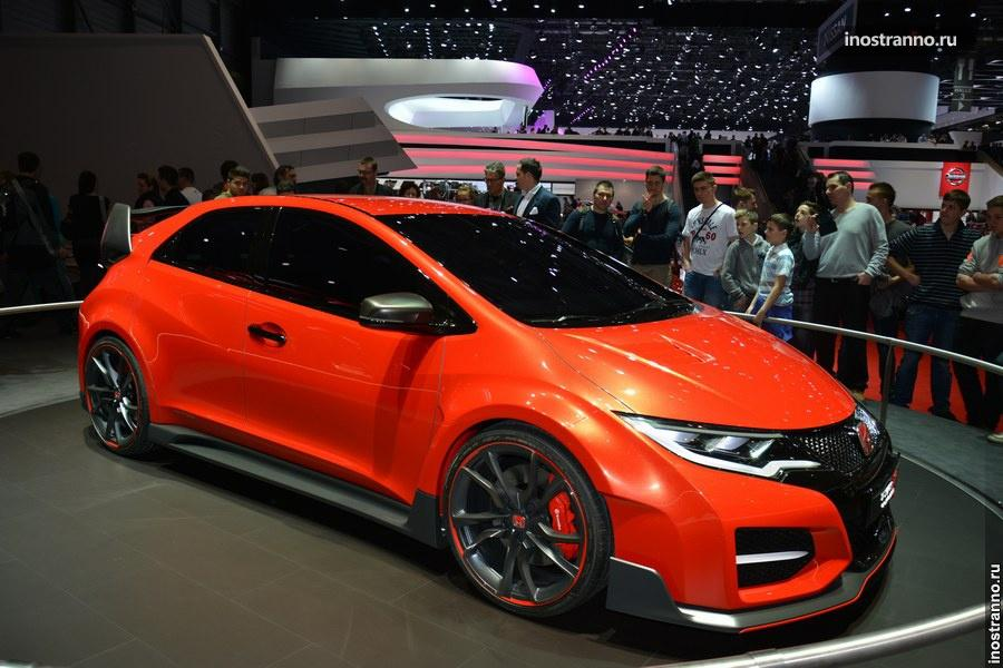 Honda Civic Type R Concept на Женевском автосалоне