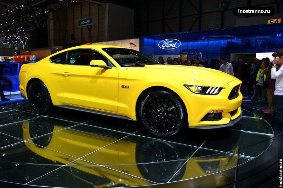 Ford Mustang на Женевском автосалоне
