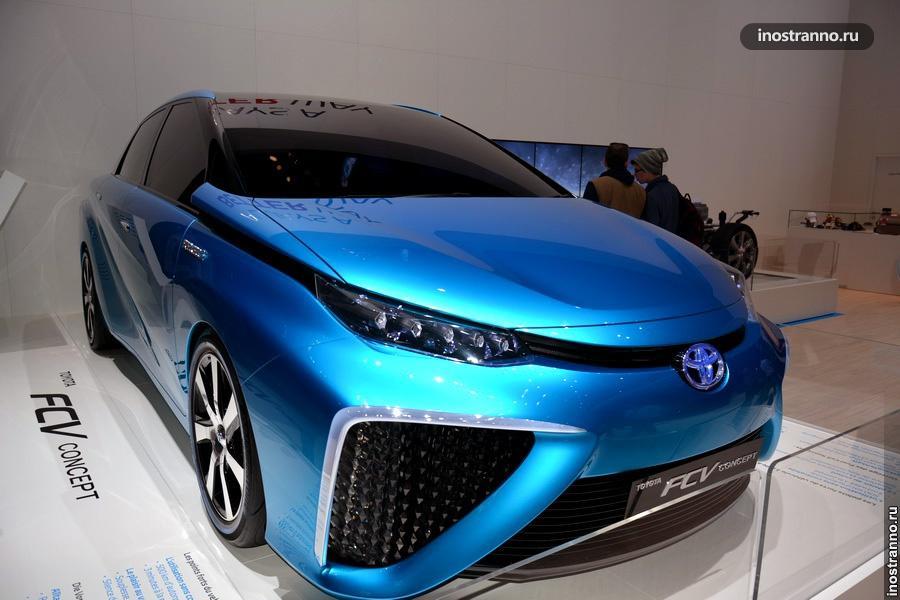 Тойота - Toyota FCV Concept