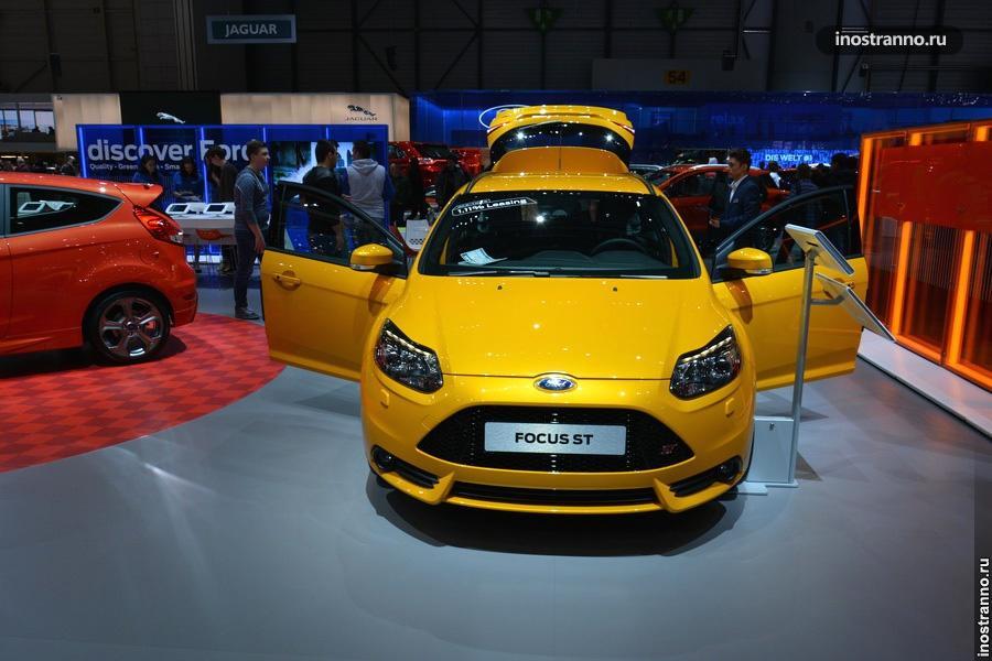 Новинка Ford Focus ST