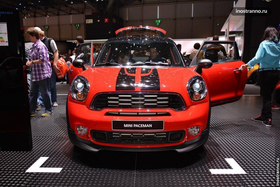 Кроссовер Mini Paceman на Женевском автосалоне