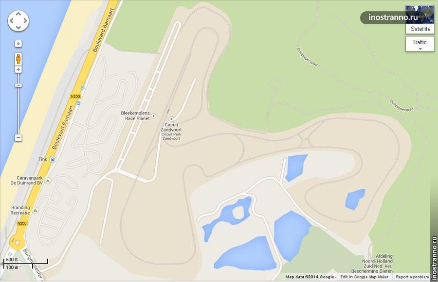 Автотрасса Circuit Park Zandvoort