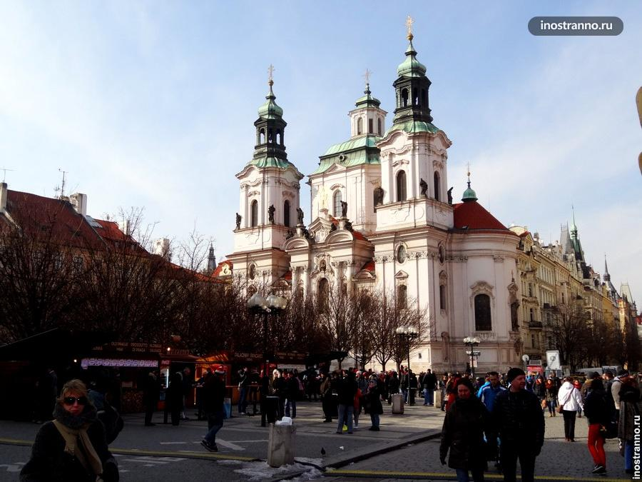 Церковь Святого Николая в Праге