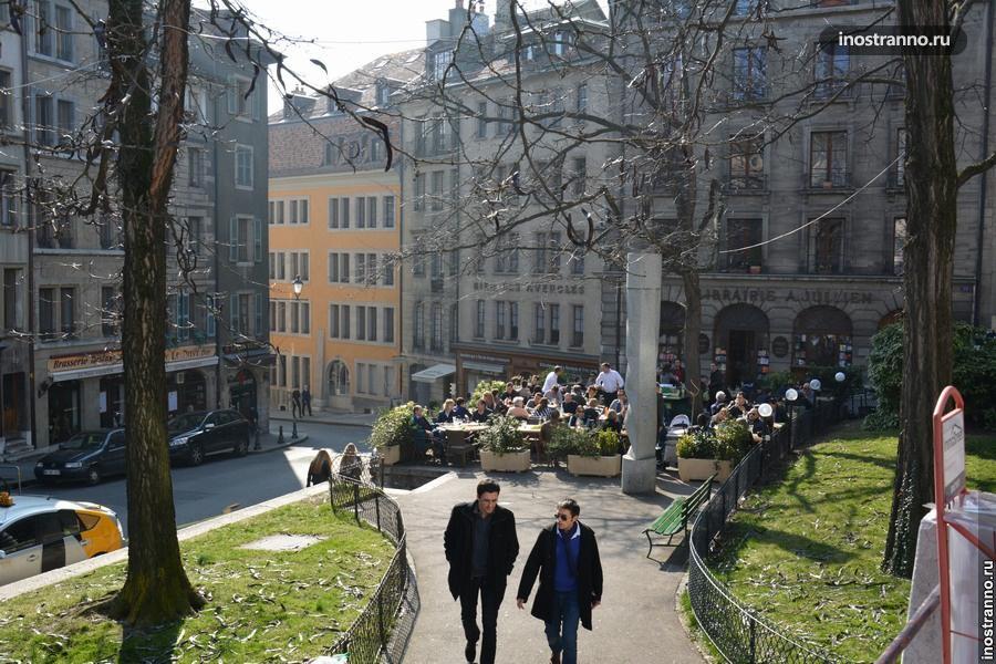 улицы женевы
