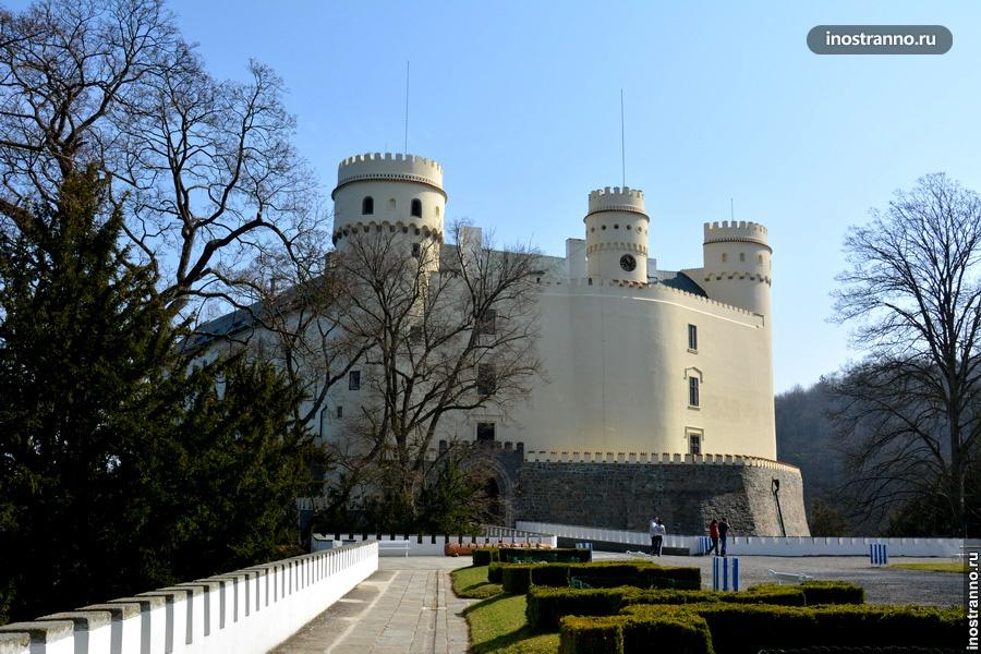 Замок Орлик в Чехии