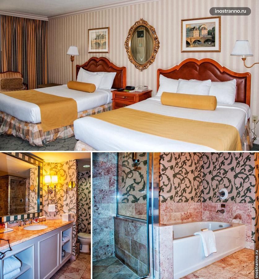 отель париж лас вегас
