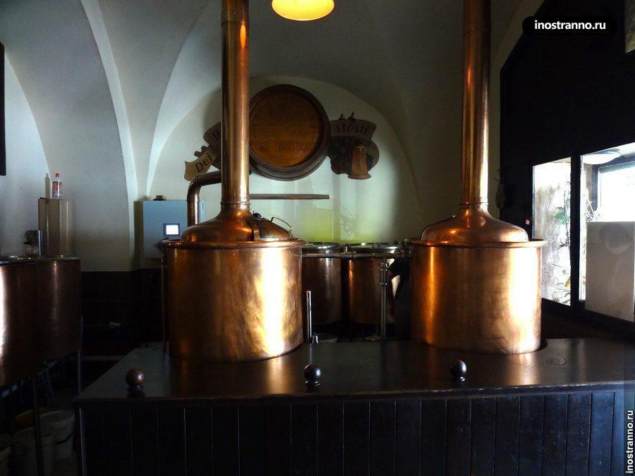 Пивоварня в Праге У Медвидку