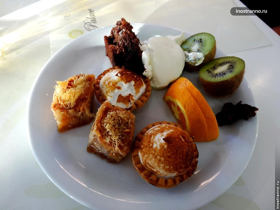 греческие сладости