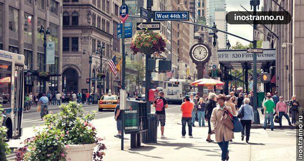 Магазины Нью-Йорка – рай для шопоголика
