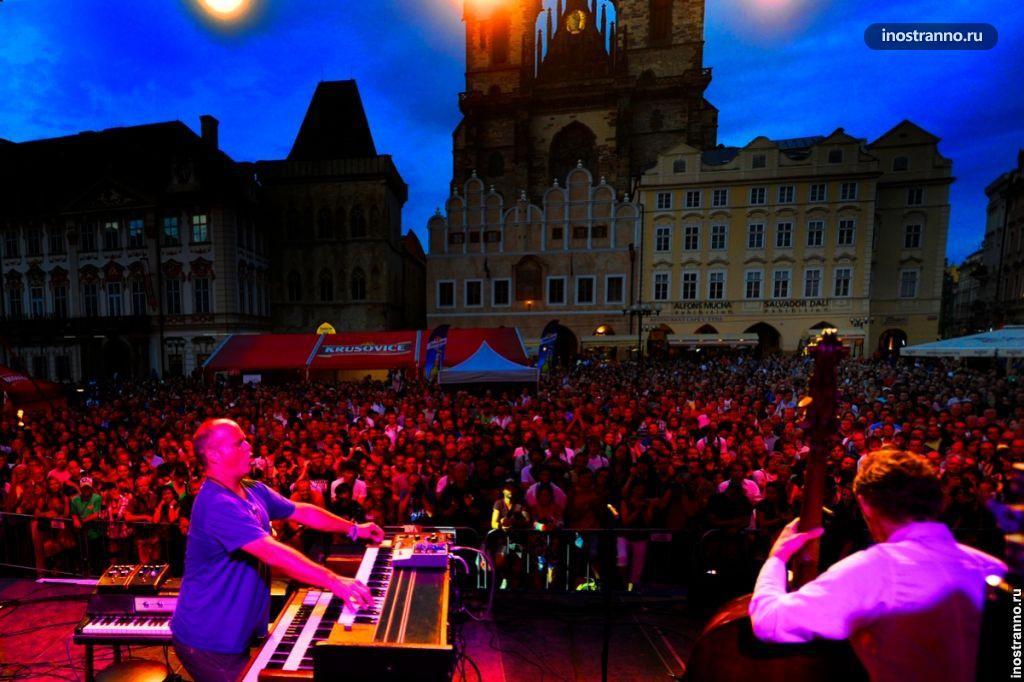 Джаз в Праге
