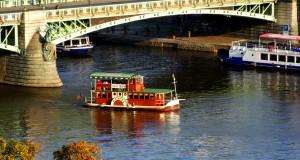 Прогулка по Влтаве на кораблике