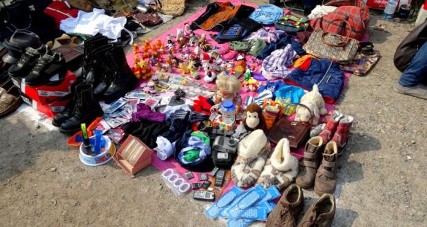 Блошиный рынок в Праге