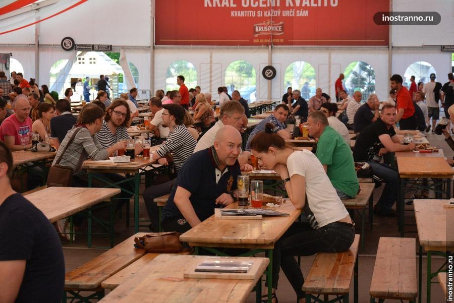 Пивной фестиваль в Чехии 2014