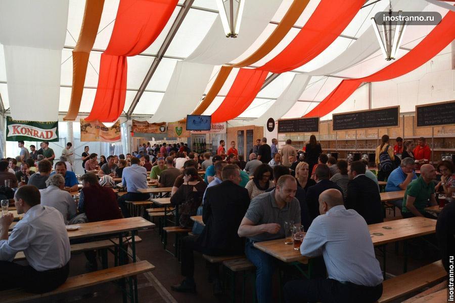 Пивной фестиваль в Чехии
