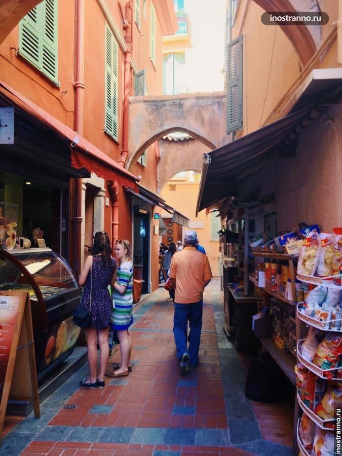 старый город монако-вилль